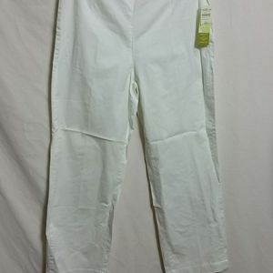 Coldwater creek New Size 14P straight twill pants